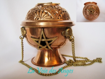 Censer with Pentagram
