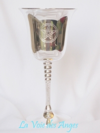 Brass Chalice with Pentagram