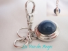 Blue Agate Carry Key