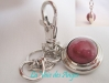 Rhodonite Carry Key